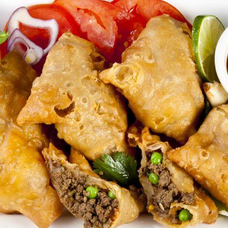 4.meat samosa