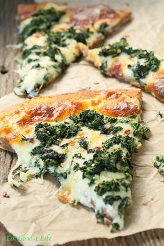 54.Spinach Cheese and Garlic Naan