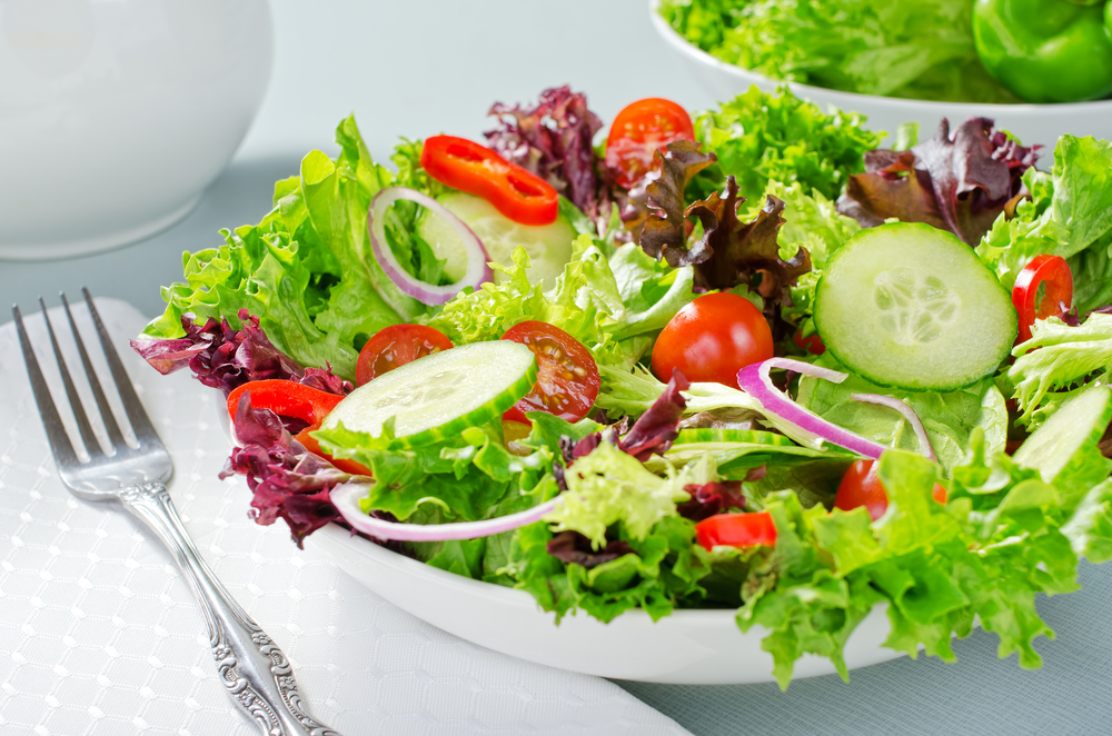Món salad trộn dầu giấm