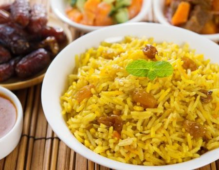 BIRYANI and RICE